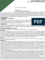 Lectura Unidad 4) Auto Supremo Nº 054-2014 Petición derechos laborales