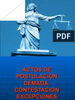 ACTOS DE POSTULACIÓN ORDINARIO 2018