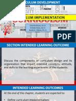 Module 5 Curriculum Implementation