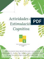 Cuadernillo 2 - Estimulación cognitiva - 4 ejes
