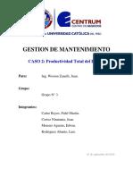 GRUPO N° 3 - SOLUCIÓN CASO 2 PTE