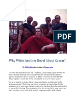 Why Write Another Novel About Caesar?