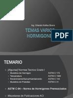 04b - Presentacion Complementaria Hormigones