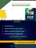 CRIPTOMONEDAS, EFECTOS FISCALES Y CONTABLES Y SU RELACION CON EL LAVADO DE ACTIVOSIN VIDEOS RESUMEN octubre 2019.pptx
