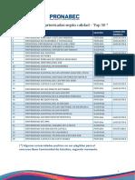 Universidades Top 30  2020 - Beca Continuidad II