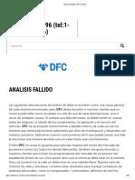 Failure Analysis ǀ DFC Diesel