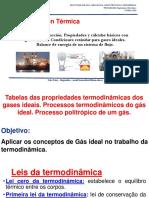 Act 7 . o gas ideal e as tabelas para seu trabalho em termodinâmica, UAN