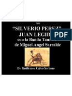 "Juan Legido canta ""Silverio Perez"" pasodoble del Maestro Agustín Lara"