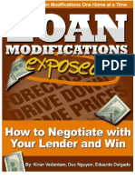 FREE DL - Loan Modifications Exposed How to Negotiate with Your Lender and Win