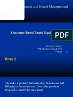 2. Customer based brand equity