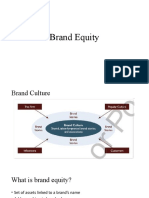 6. Brand Equity