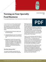 Turning on Your Speciality Food Business