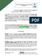 ACTA conciliacion resolucion de contrato de compraventa