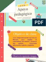 Apoyo pedagogico 3° A