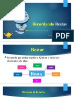 MATERIAL DE REPASO RESTAS