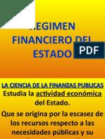 REGIMEN FINANCIERO DEL ESTADO
