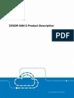 ZXSDR A8612 Product Description