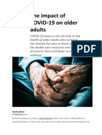 The impact of COVID-19 on older adults.docx