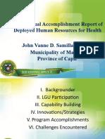 MTDP-JOHN VANNE D. SAMILLANO,RMT