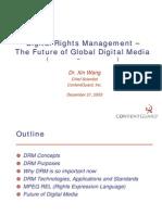 DRM the future of global digital media