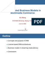 DRM-Enabled business models in multimedia commerce