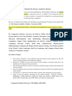 Global Life Science Analytics Market