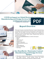 COVID-19 Impact on Global Electronics Contract Manufacturing and Design Services Market Size, Status and Forecast 2020-2026