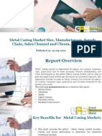 Metal Casing Market Size, Manufacturers, Supply Chain, Sales Channel and Clients, 2020-2026