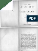 mektubat-MEVLANANIN MEKTUPLARI