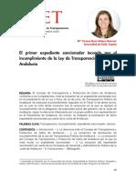 El primer expediente sancionador incoado por el incumplimiento de la Ley de Transparencia Andaluciapdf