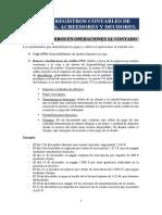 TEMA 3 - Registros contables de tesorería. Acreedores y deudores (2)