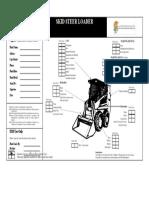 Mobile Plant Checklist -  Skid Steer Loader