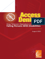 How Telecom Operators in Africa Are Failing Persons With Disabilities