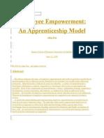 Empolyee Empowerment