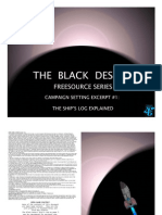 The Black Desert Excerpt