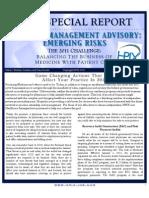 HPIX Special Report - Risk Management Advisory