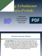 Tajuk 3 Bidang Kebudayaan Melayu Sistem Politik