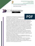Filosofía de las cimentaciones.