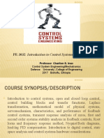 PE-3032 wk 1 Introduction TO CONTROL SYSTEM  feb 26 2015