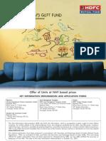 Hdfc Mutual Fund (Children Gift) - 042008