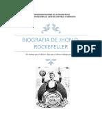 BIOGRAFIA DE ROCKEFELLER