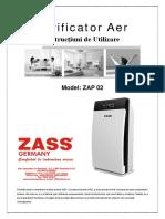 Manual purificator Zass