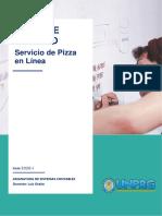 Caso de estudio Servicio de pizza en línea - Sistemas Contables