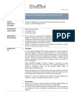 Ficha de propuesta de Trabajo de Grado MII 2020