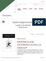 Charraud-Epistemología lacaniana. Lacan y la ciencia – Freudiana