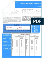 Consumer Price Index - June 20