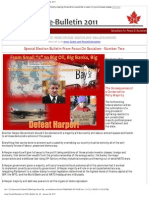 FOS e-Bulletin No. 25 - January 29, 2011 Big Oil, Big Banks, Big Military! Defeat Harper!
