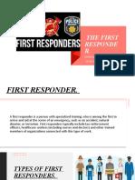 PRESENTATION FIRST RESPONDER