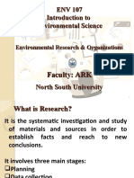 12.Environmental Research and Organisations