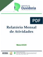 RELATÓRIO GERAL MENSAL OUVIDORIA - MAIO 2020 (1).pdf